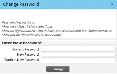 User Accounts - Passwords